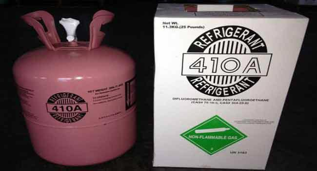 شارژ گاز R410A