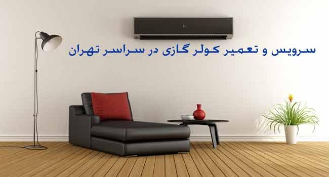 سرویس کولر گازی دولت