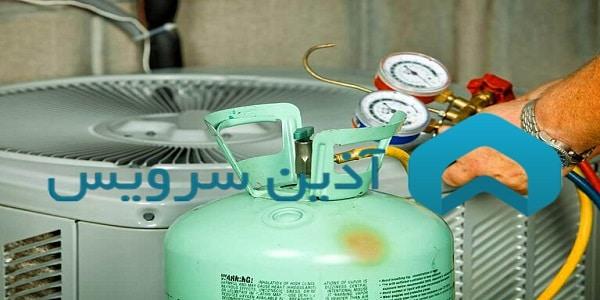 آموزش شارژ گاز با ترازو
